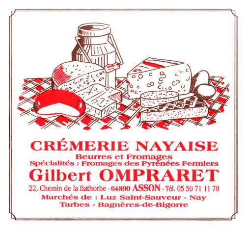 OMPRARET Gilbert – Crèmerie