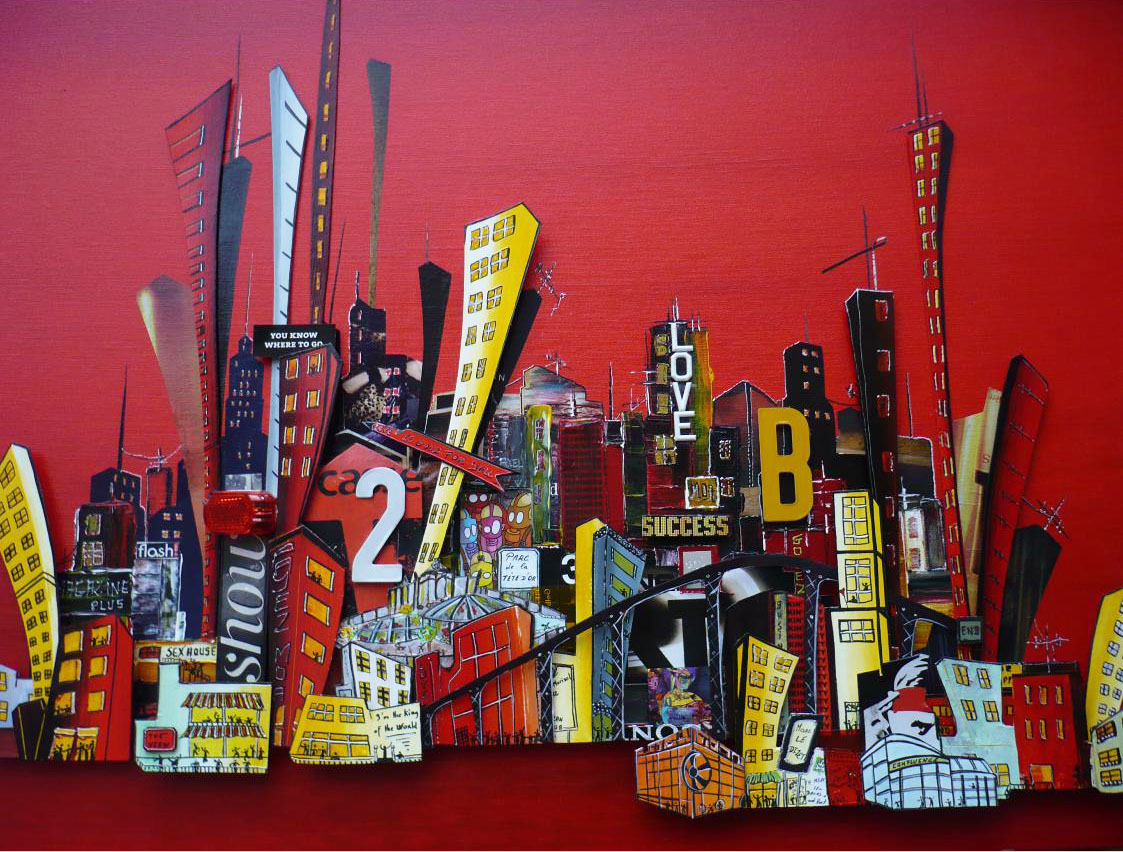 Affiche Exposition Marc Le Dizet -visuel
