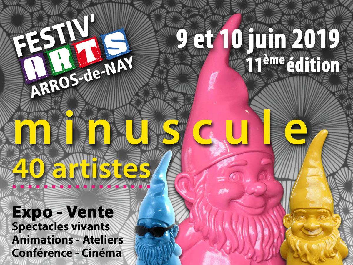 Les candidatures pour Festiv'Arts 2019 sont ouvertes