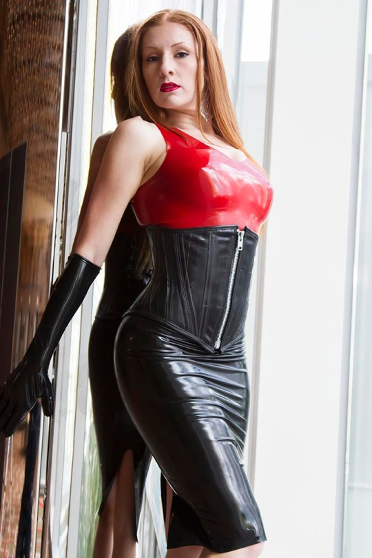dressy latex clothing outfits