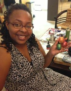 Amanda's polishes