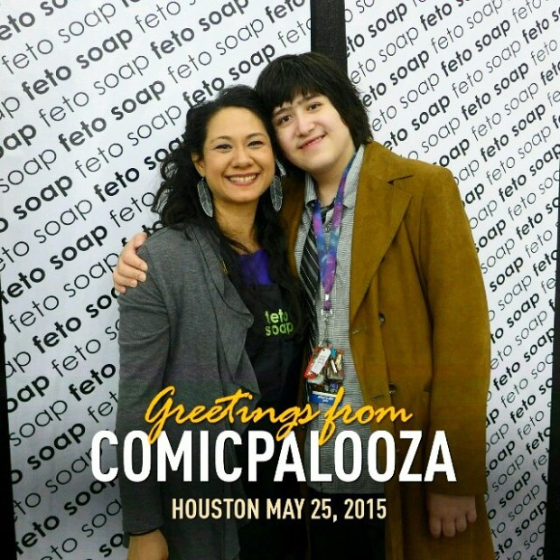 Lisa & Eli at Comicpalooza
