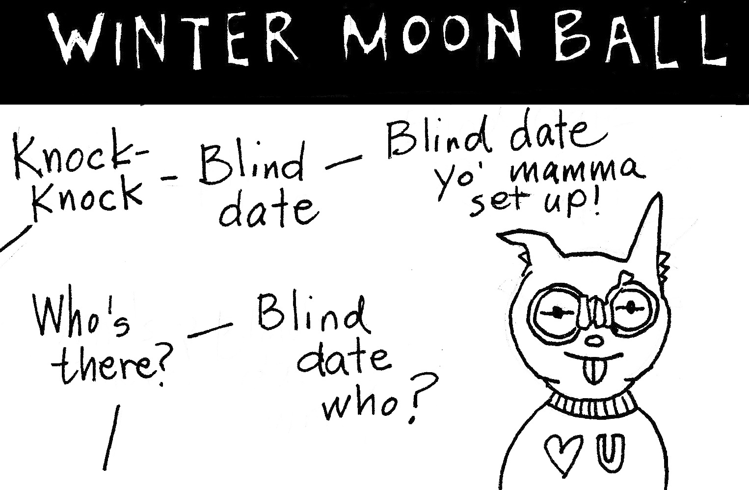 Fever and Fractal: Winter Moon Ball (behind the scenes)