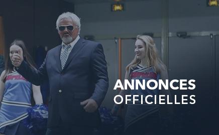 Annonces Officielles de Marc Mercier pour la saison 2016 de la FFCP