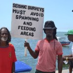 Seismic Survey Protest 16
