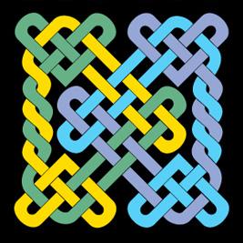 North Olympic Fiber Arts Festival logo
