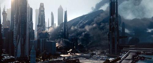 Star Trek Into Darkness crash