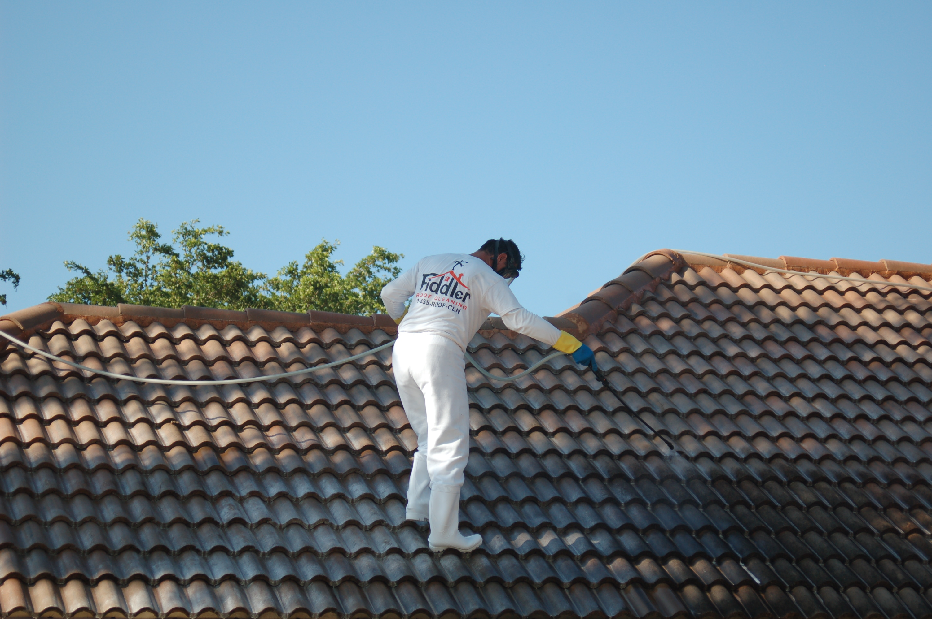 Cleaning your roof the right way how the professionals for Roof right