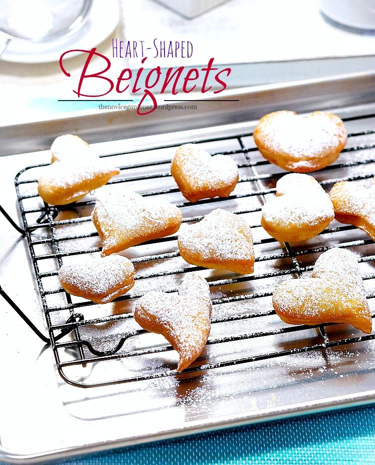 Beignets for Valentine's Day