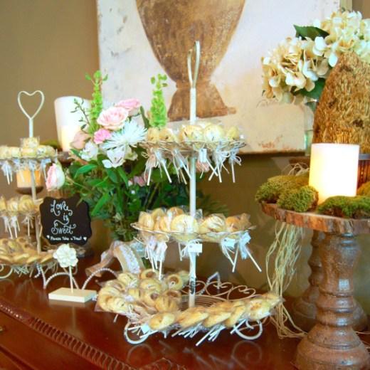 wedding pie pops