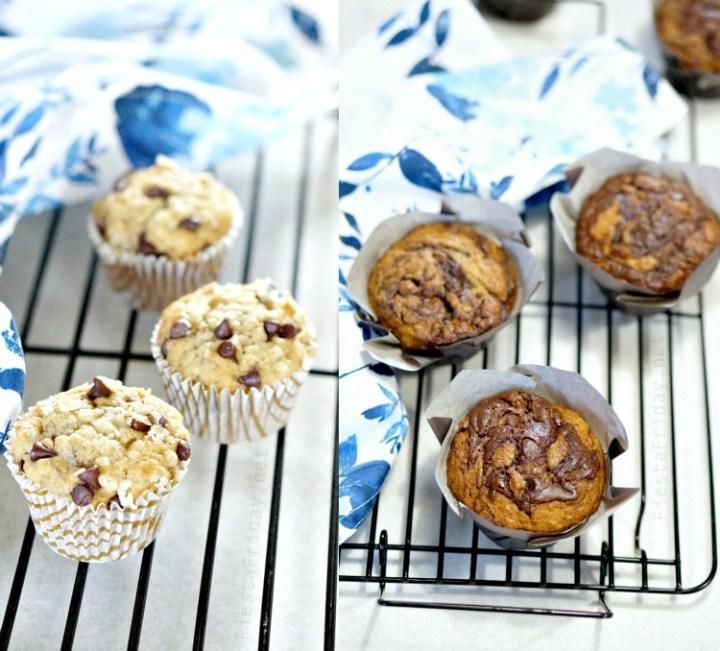 Oatmeal Flour Muffins