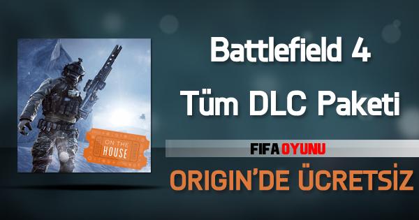 Battlefield 4 DLC Paketleri Origin'de Ücretsiz