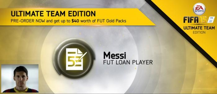 FUT 15 Messi Loan