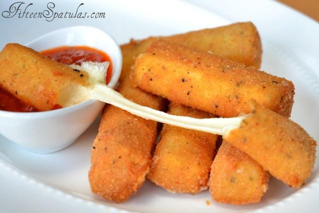 Homemade Mozzarella Sticks » Fifteen Spatulas