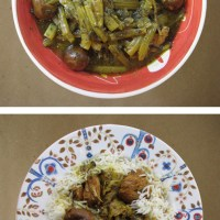 Khoresh 'eh Karafs - Persian Celery Stew