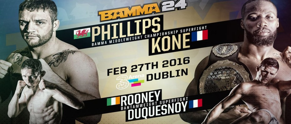 BAMMA 25 and First Bouts Announced