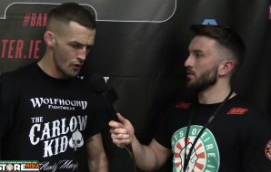 "Andrew ""The Carlow Kid"" Murphy post fight interview at BAMMA 28 [Video]"