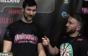 Will Fleury post fight interview at BAMMA 28 [Video]