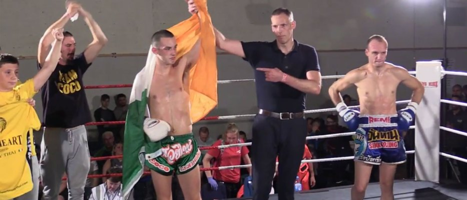 Top prospect Craig Coakley will look to finish Italian champion Eugenio Donato in Italy