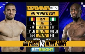 Watch: Ion Pascu vs Henry Fadipe - BAMMA 30