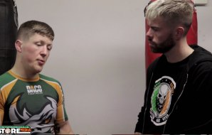 "Watch: Paul ""Redser"" Redmond post fight interview at Battlezone FC 17"