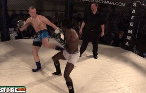 Watch: Viktor Sorokins vs David Ola - Cage Legacy Kickboxing 3