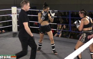 Watch: Amy Byrne vs Kattiyah Sahban - Curadh Legends 2