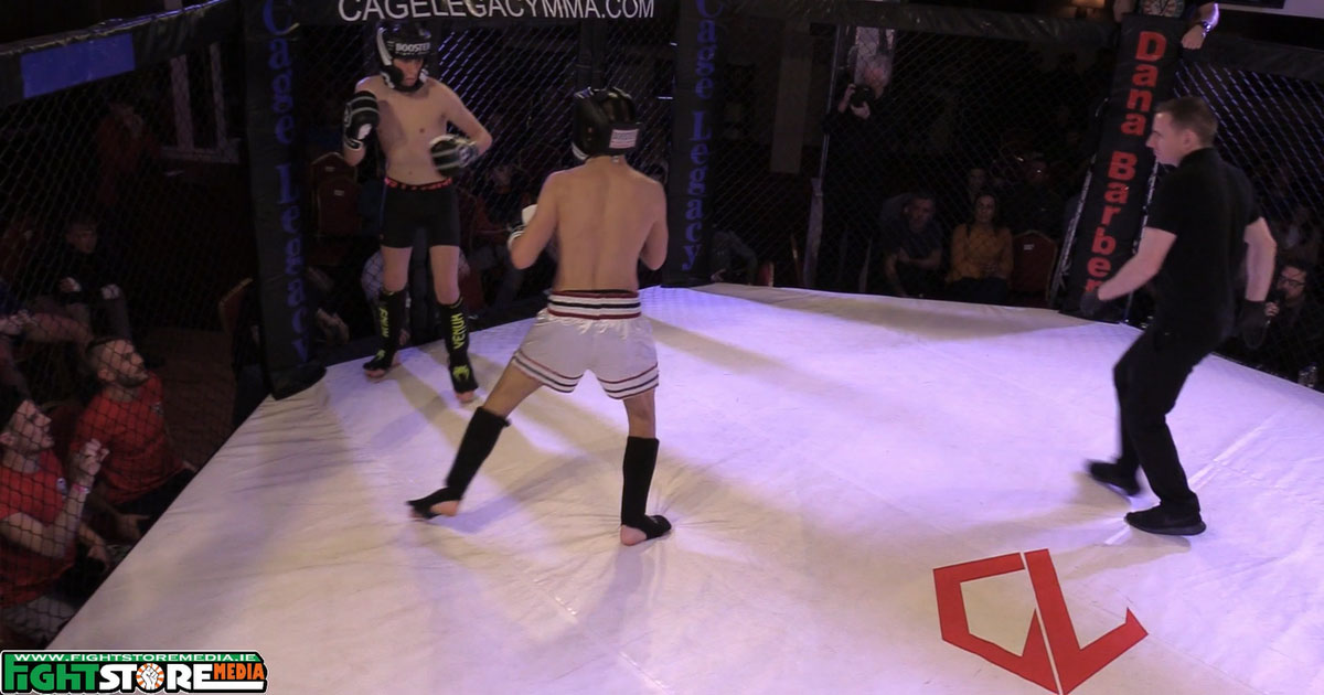 Watch: Eoin Chandley vs Erik Luko - Cage Legacy 5