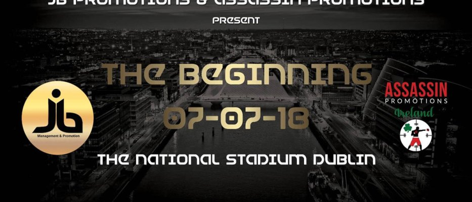 JB Promotions & Assassin Promotions Present: The Beginning