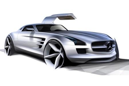 mercedes benz sls amg concept cars 2248