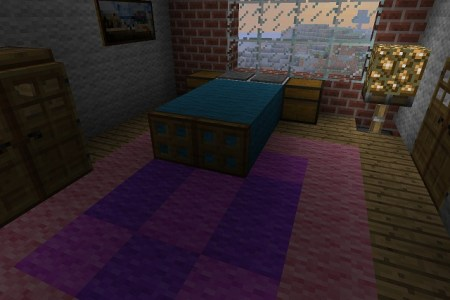 gallery for > minecraft bedroom ideas girls