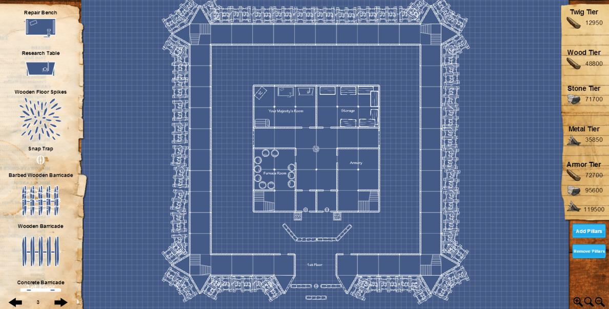 plan maison rust