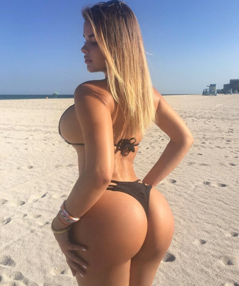 Rainha do bumbum - Conheça esta Russa famosa no Instagram e no Facebook