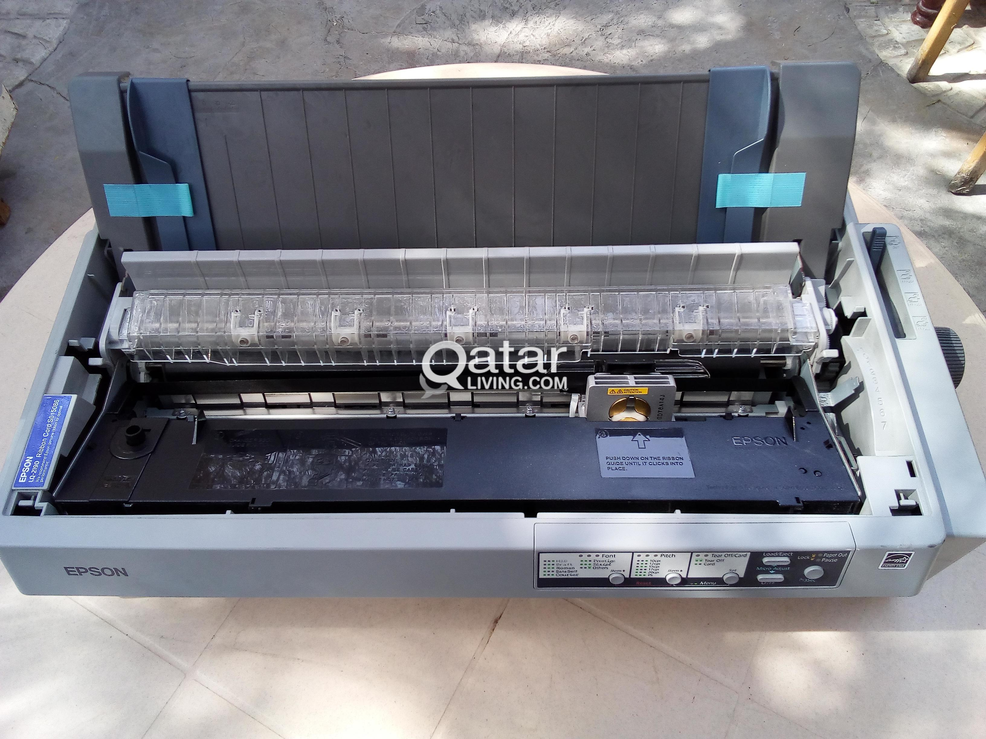 Epson LQ 2190 Invoice Printer   Qatar Living title