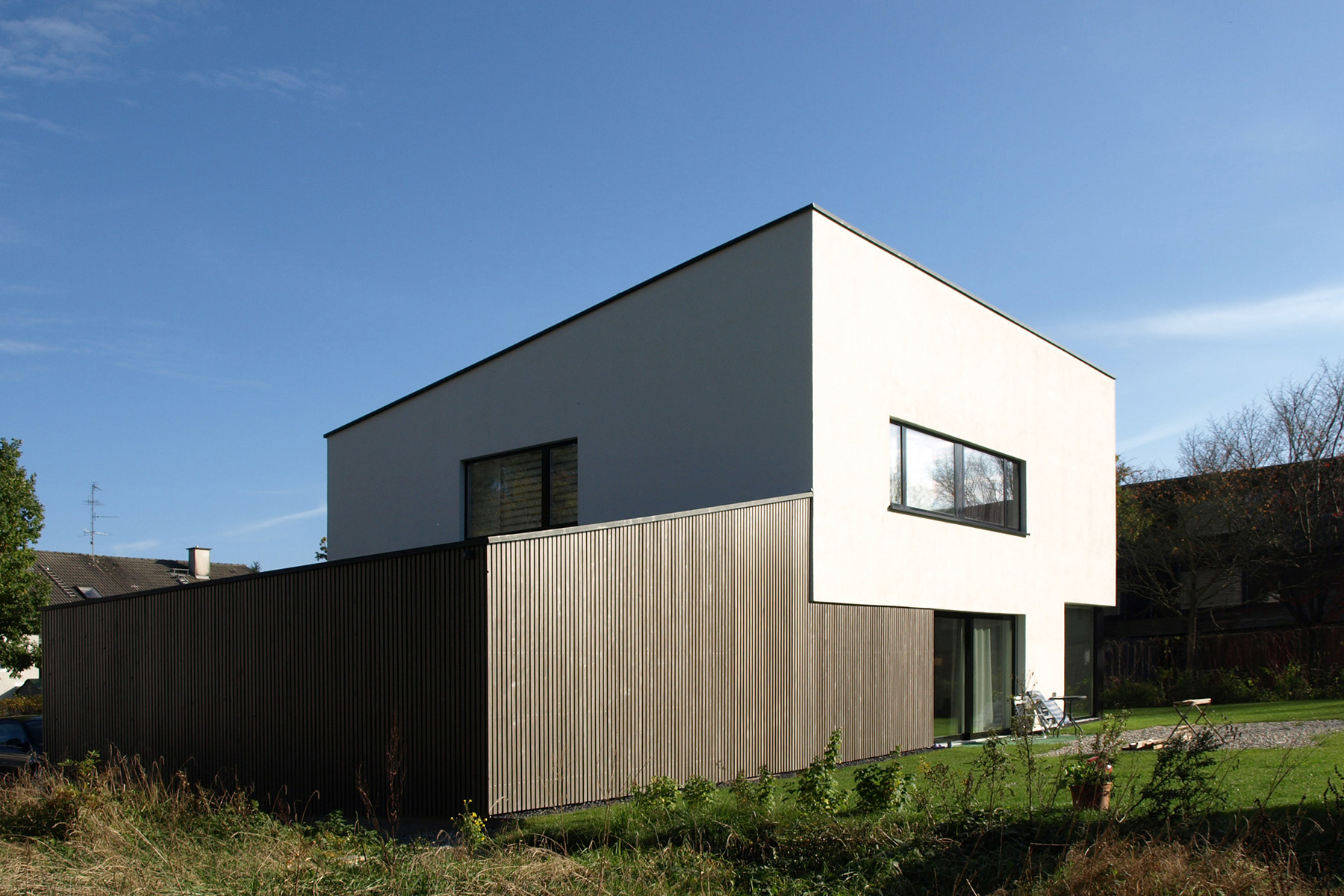 modernes einfamilienhaus viktor filimonow architekt in m nchen. Black Bedroom Furniture Sets. Home Design Ideas