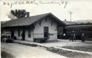 (Caneadea 9)  WNY & PRR Station