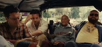 Bradley Cooper, Ed Helms, Zach Galifianakis, The Hangover Part 2