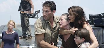Laurie Holden, Norman Reedus, Jon Bernthal, Melissa Suzanne McBride, Sarah Wayne Callies, Chandler Riggs, The Walking Dead, Miles Behind Us