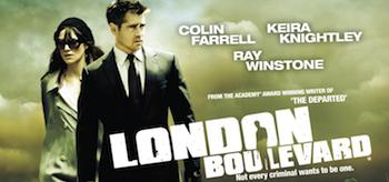 London Boulevard Movie Poster