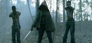 Michonne, The Walking Dead: Season 2