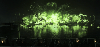 Wildfire Explosion Game of Thrones Blackwater