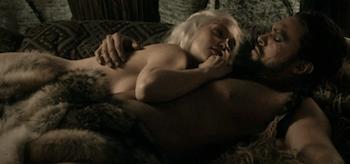 Emilia Clarke Jason Momoa Game of Thrones Lord Snow