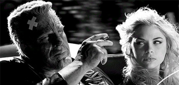 Mickey Rourke Jaime King Sin City
