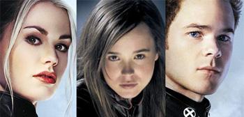 Anna Paquin Ellen Page Shawn Ashmore