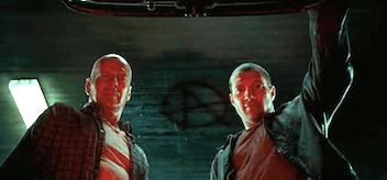 Bruce Willis Jai Courtney A Good Day to Die Hard