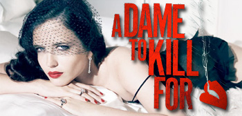 Eva Green Sin City A Dame to Kill For Logo
