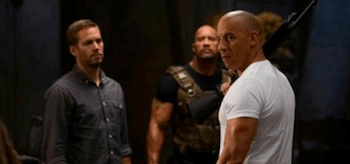 Vin Diesel Paul Walker Dwayne Johnson Fast and Furious