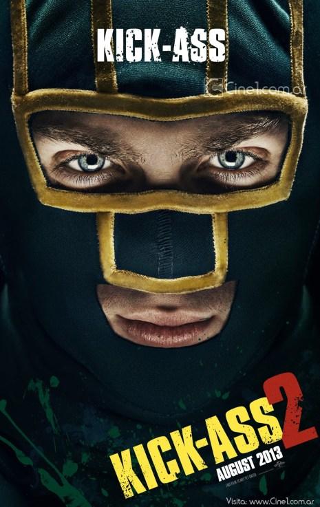 Aaron Johnson Kick-Ass Kick-Ass 2 movie poster