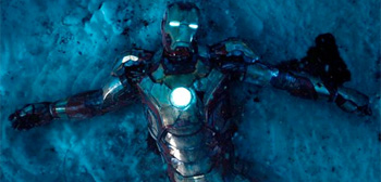 Mark 5 in Snow Iron Man 3