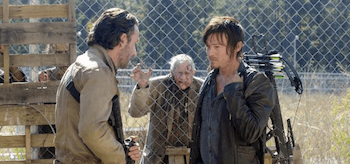 Norman Reedus Andrew Lincoln The Walking Dead This Sorrowful Life